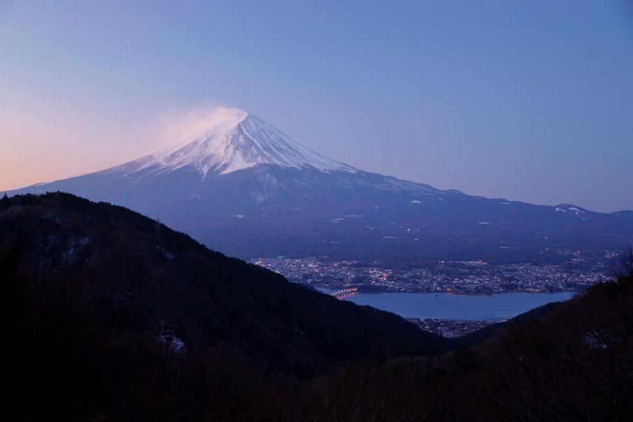 峠よりの富士