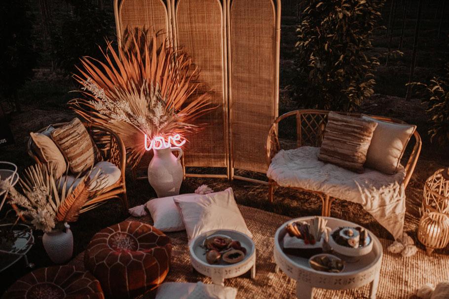 Boho Wedding Lounge