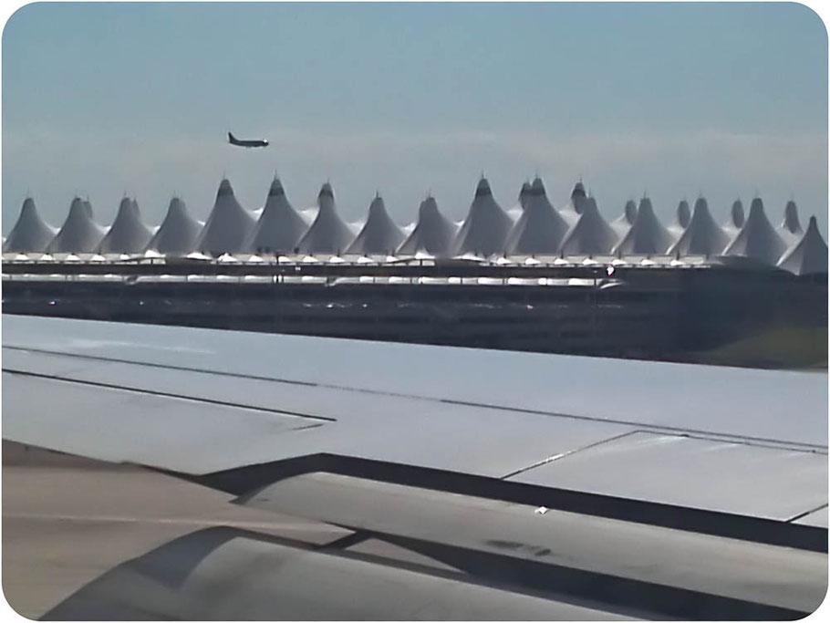 ist er nicht schön, der Flughafen?