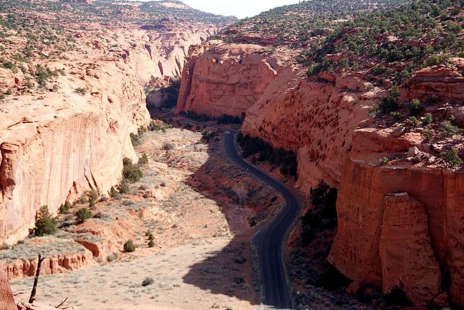 Blick in den Long Canyon