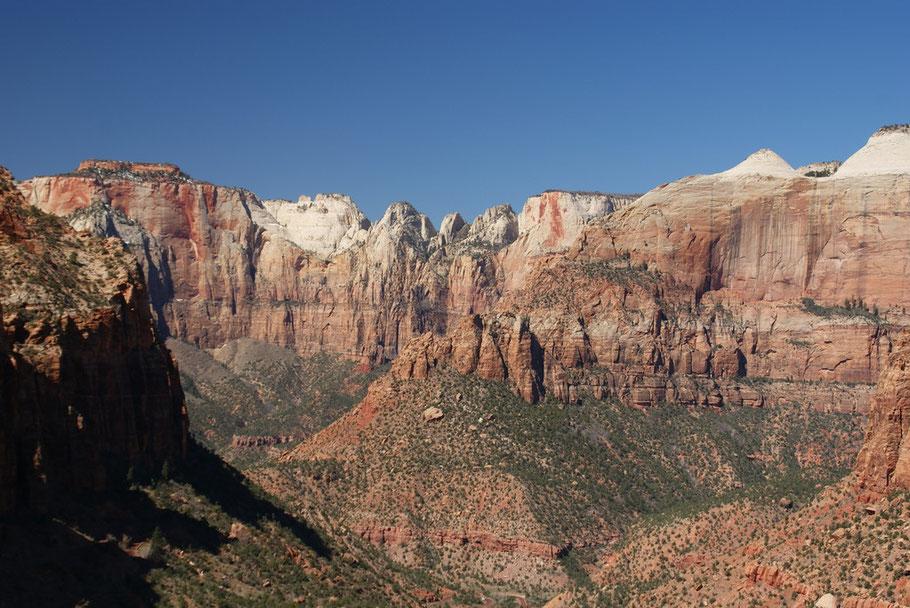 Blick vom Zion Overlook