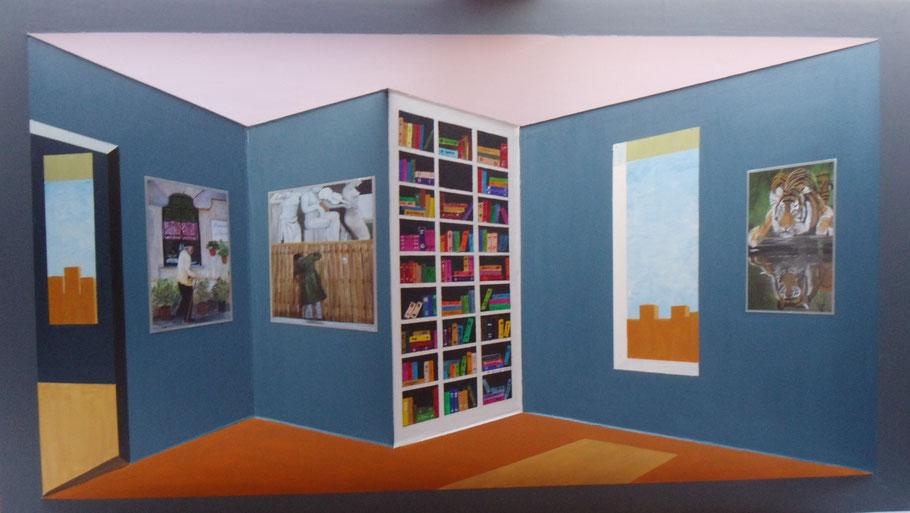 3 D-Konstruktion Show-Room ( 86x150x23 )