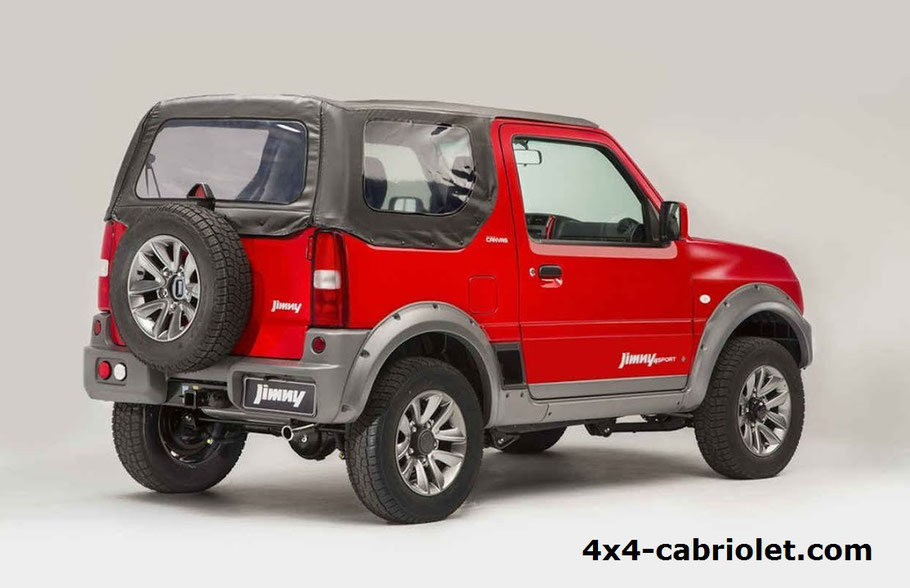 le nouveau suzuki jimny 4x4 b che et capote pour v hicule cabriolet et 4x4. Black Bedroom Furniture Sets. Home Design Ideas