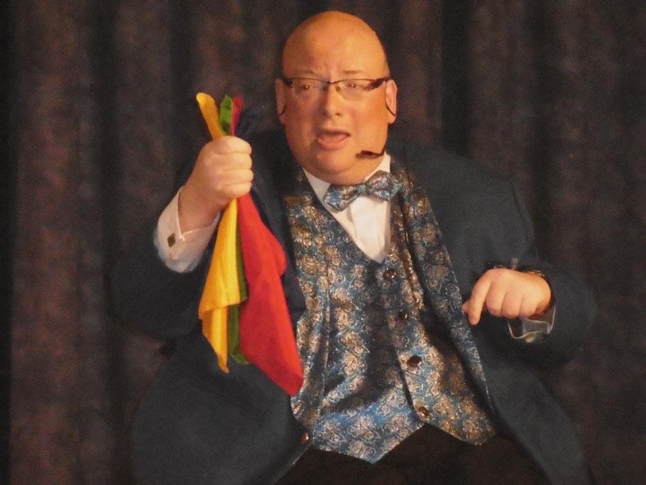 Zauberer Patrick Kaußen