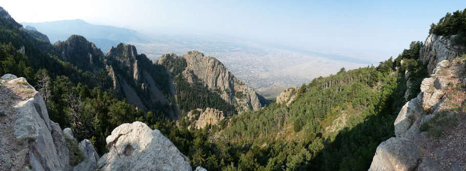 Crest Spur Trail, Sandia Mountains, Cibola National Forest, New Mexico
