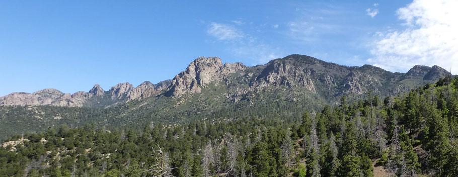 Pino Trail, Sandia Mountains, Cibola National Forest, New Mexico