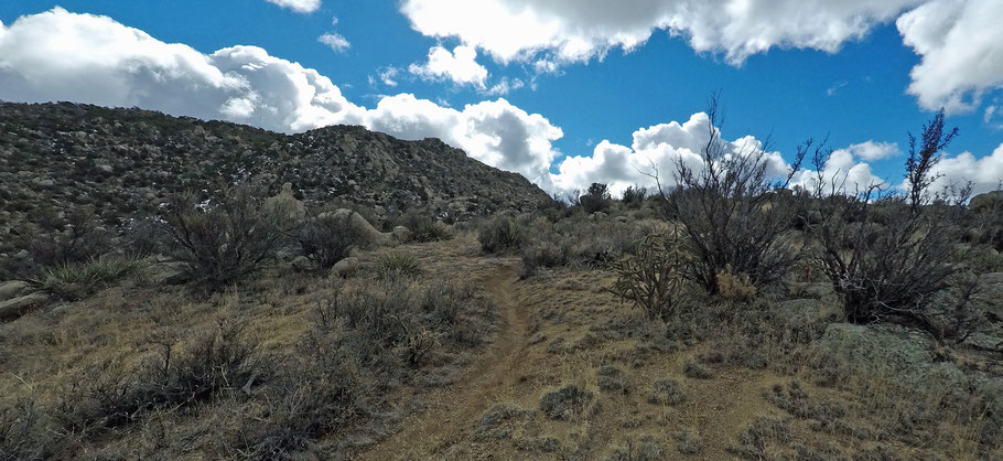 Mano Trail, Sandia Mountains, Cibola National Forest, Albuquerque, New Mexico