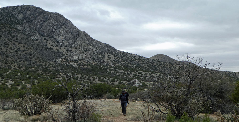 Salas Trail, Manzano Mountains, Cibola National Forest, New Mexico, hike, hiking, backpacking