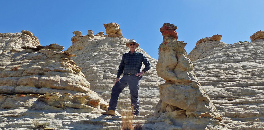 Dave David Phillips, Mesita Blanca, Tohajiilee, hike, hiking