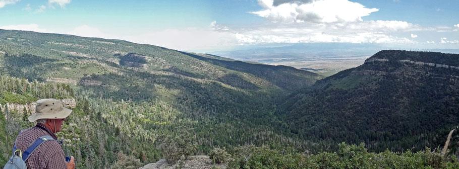 Capulin Peak Trail, Sandia Mountains, Cibola National Forest, New Mexico