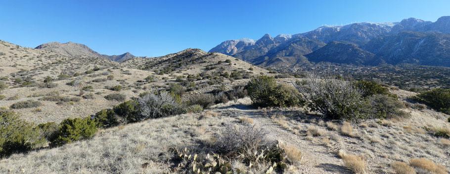Jaral Canyon, Sandia Mountains, Cibola National Forest, New Mexico