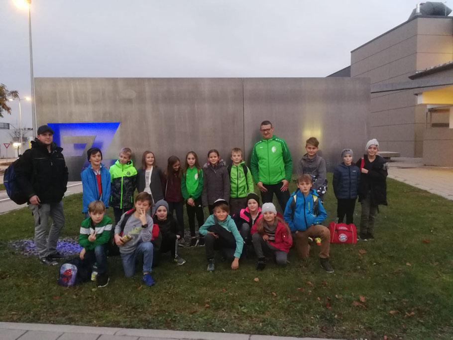 E-Jugend im Hallenbad Braunau 2018