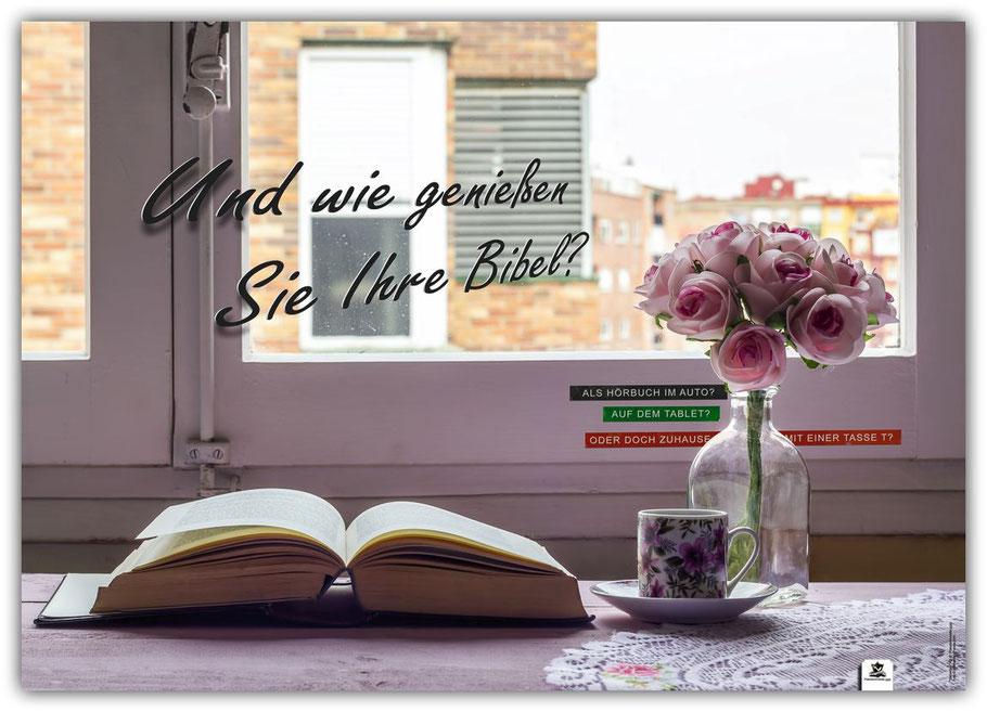 Plakat A2 Bibel genießen