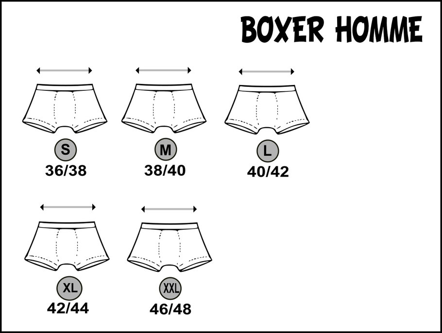 boxer pour homme pecheur