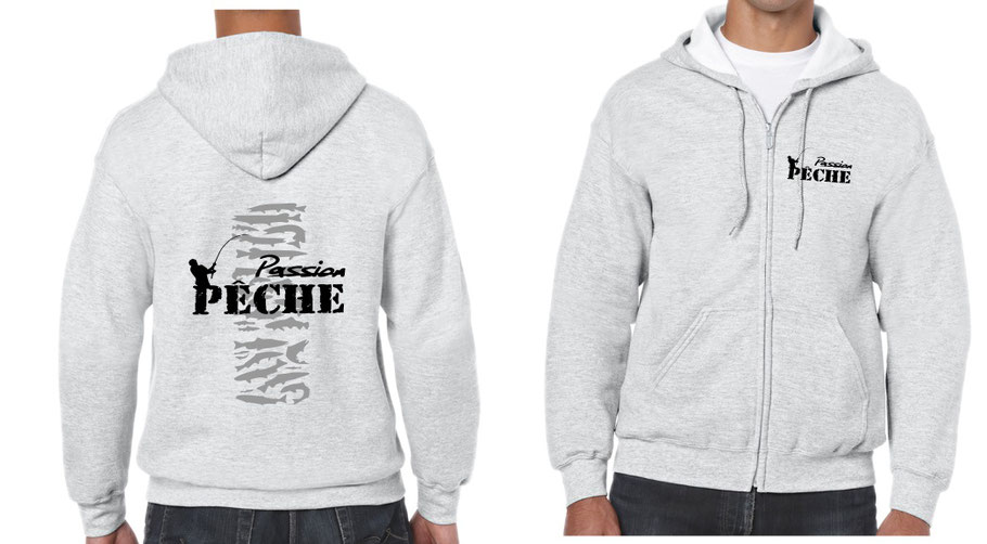 sweat homme pêche