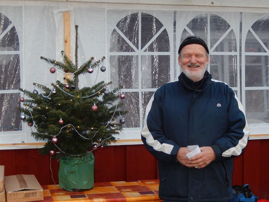 Hinrich Lesch - Geest-Bouler Breklum - 4. Platz beim Tannenbaum-Turnier