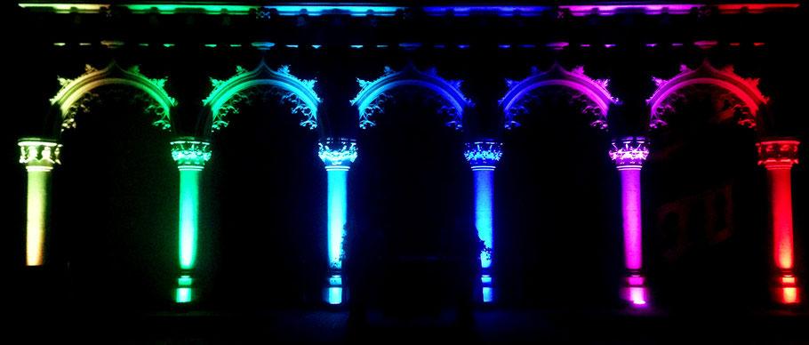 Der Dom bei Nacht... Konfirmationen 2016