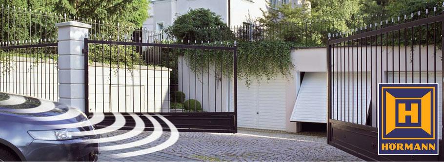 einfahrtstorantriebe von h rmann ihr fachmarkt f r zaun und torsysteme. Black Bedroom Furniture Sets. Home Design Ideas