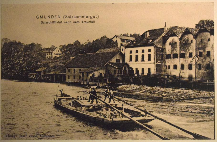 Salztransport in Gmunden Richtung Stadl-Paura