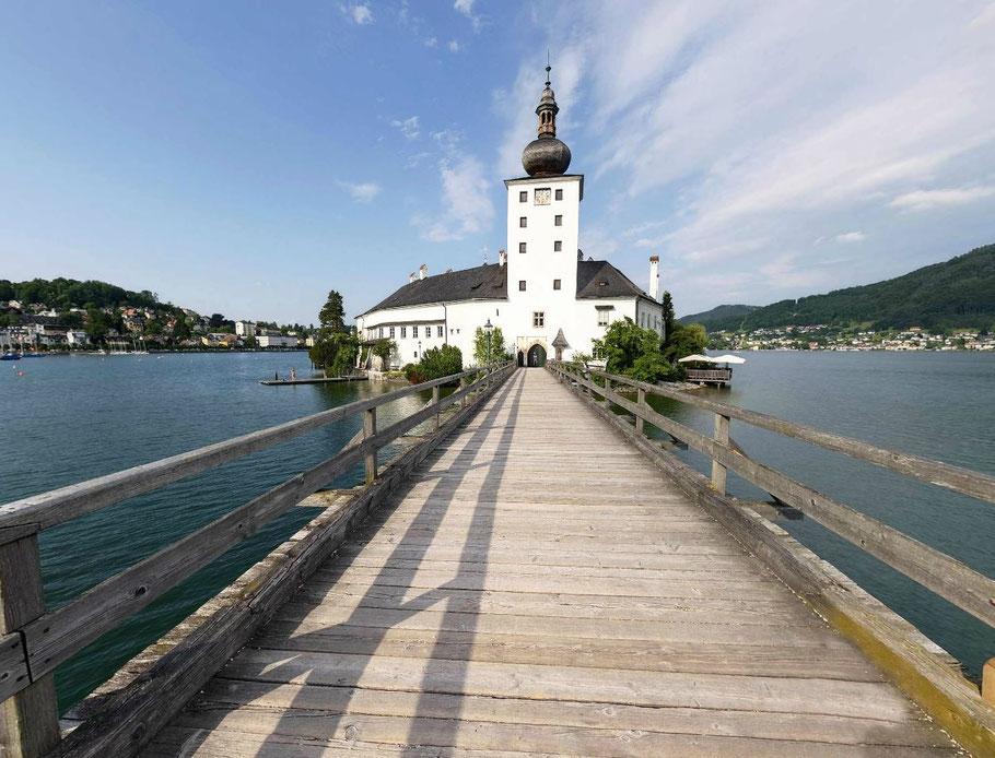 Schloss Ort -360° Panorama. © Johann Steininger