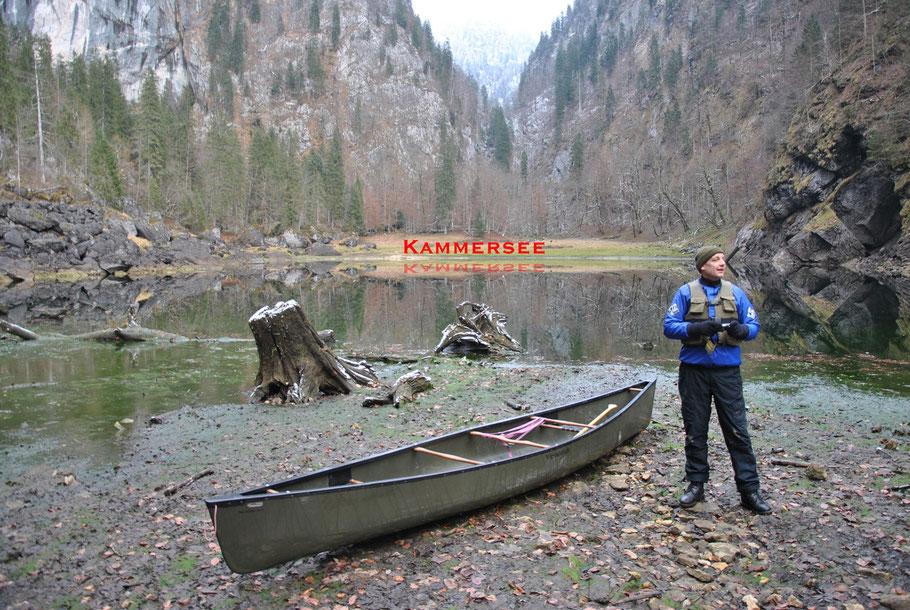 Quellgebiet der Traun am Kammersee