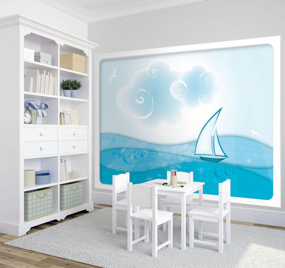 Fototapete Kinderzimmer Meer