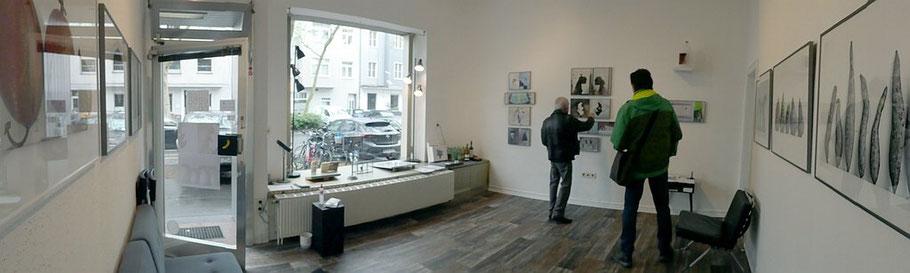 BEIDE SEITEN_Kunst von KLAUS KÜSTER & DIETMAR WEHR_Paralleler Prozess im 68elf-studio