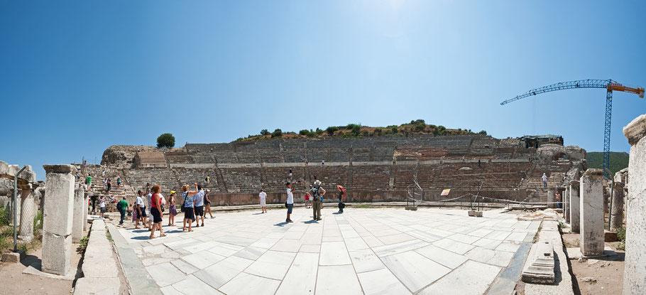 Panorama, Ephesos, 8 Bilder