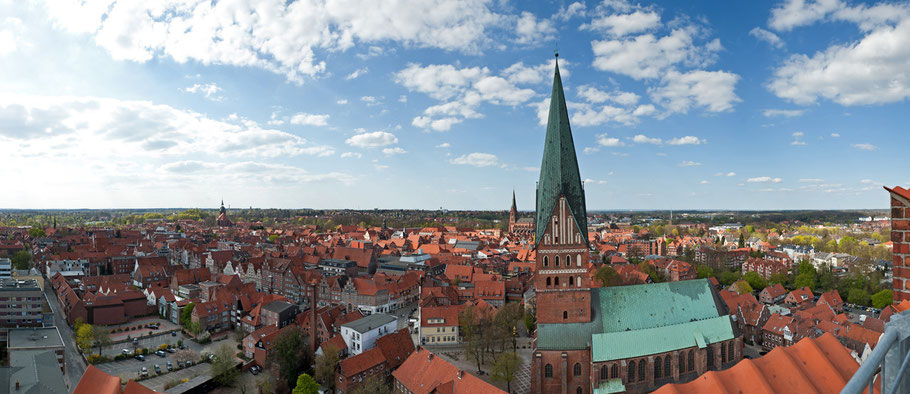 Panorama Lüneburg - St. Johannes