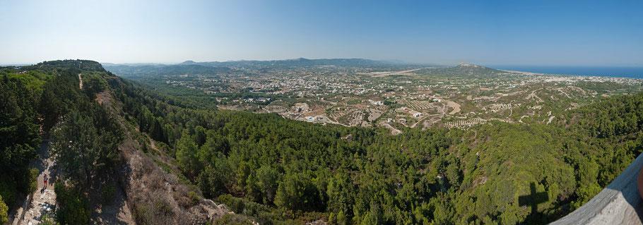 Panorama, Rhodos, 9 Bilder