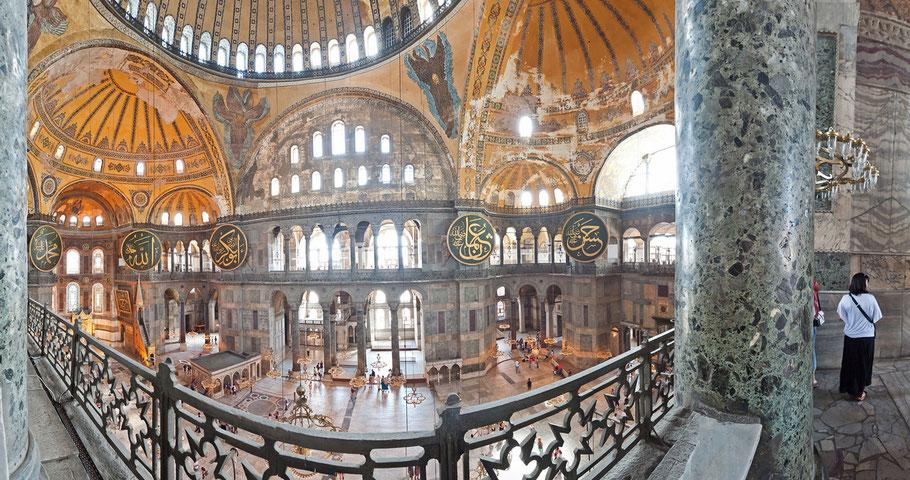 Panorama, Hagia Sophia, 7 Bilder