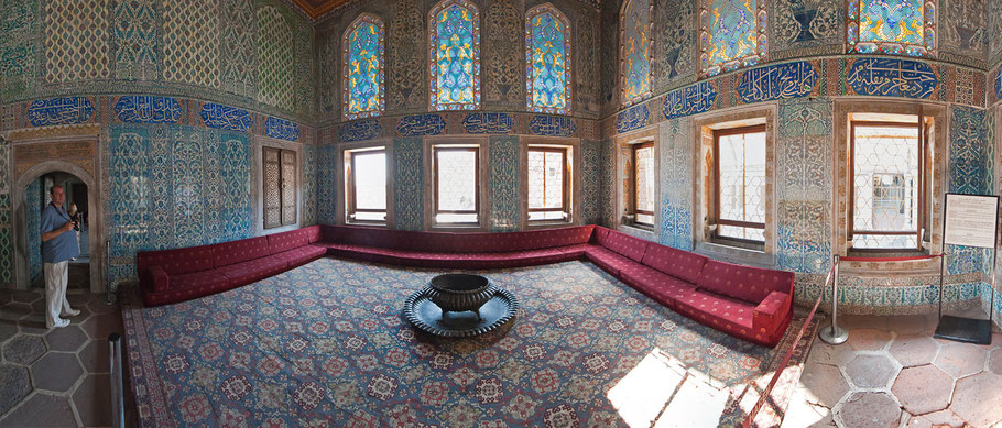 Panorama, Topkapi Palast, Harem, 8 Bilder