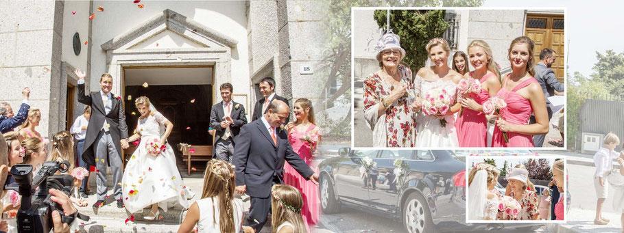 Fotógrafos de bodas en Madrid. Ceremonia