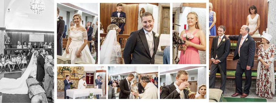 Fotógrafos de bodas en Madrid. Fotos de la ceremonia.