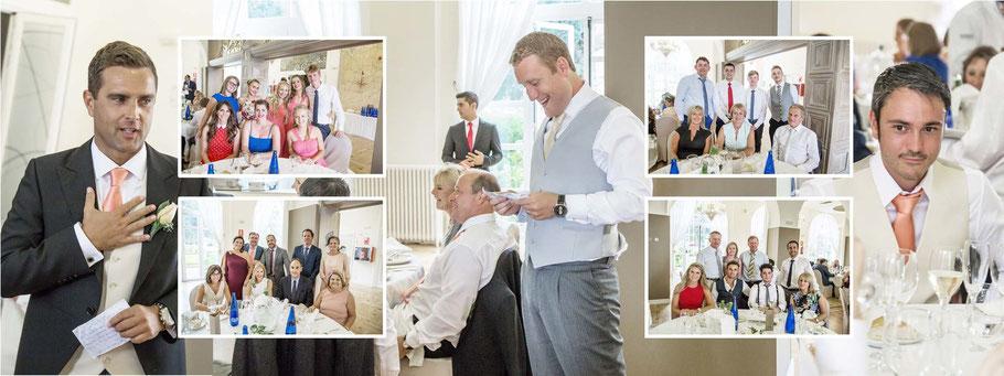 Fotógrafos de bodas en Madrid. Fotos del banquete