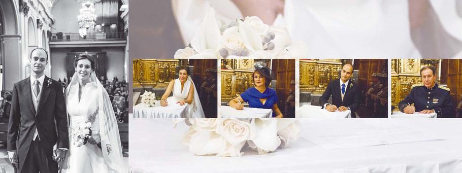 Fotógrafos de bodas y vídeos en Madrid. Fotos de ceremonia