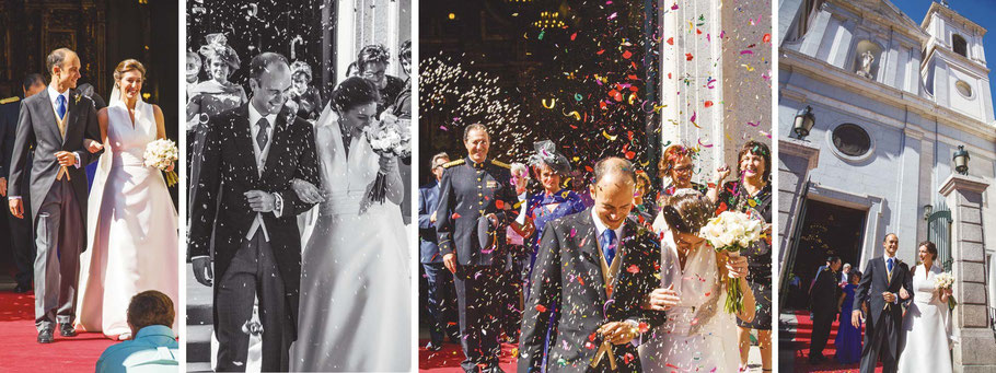 Fotógrafos de bodas en Madrid.
