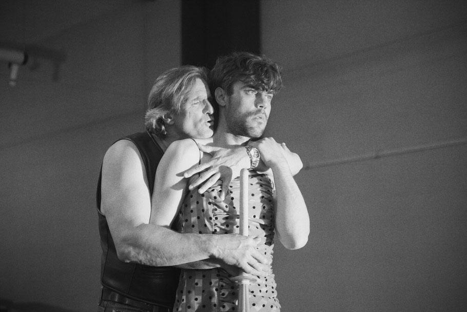 """Hamlet"" (Shakespeare) Ophelia, Regie: Kai-Frederic Schrickel, Neues Globe Theater, Berlin 2015"