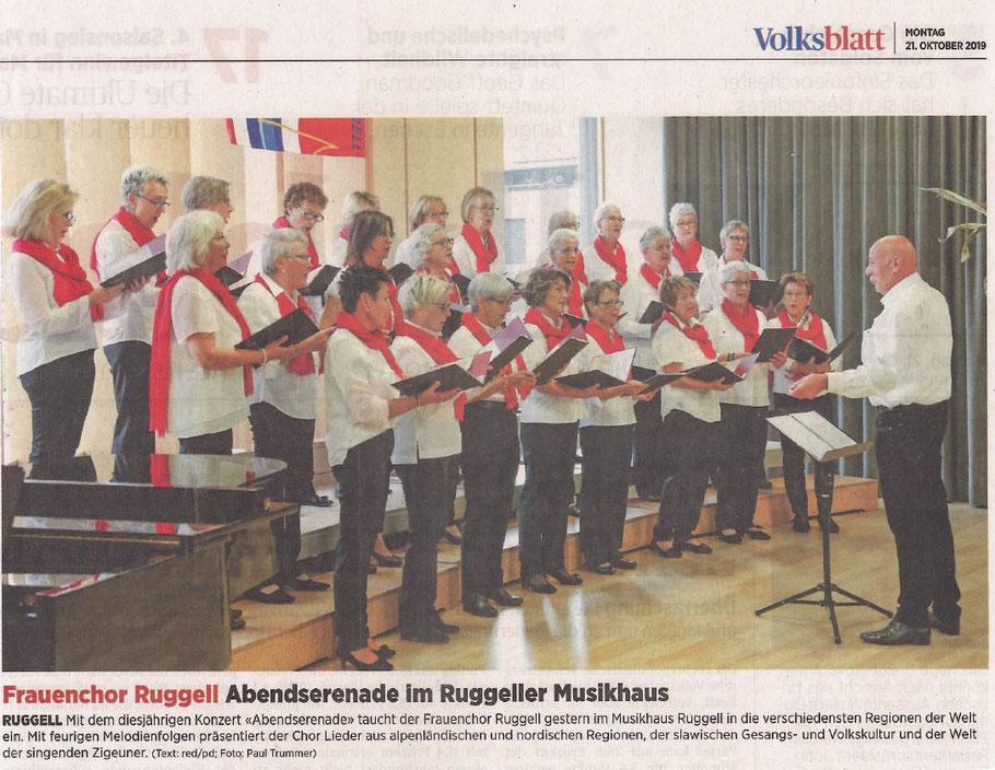 Volksblatt, 21. Oktober 2019