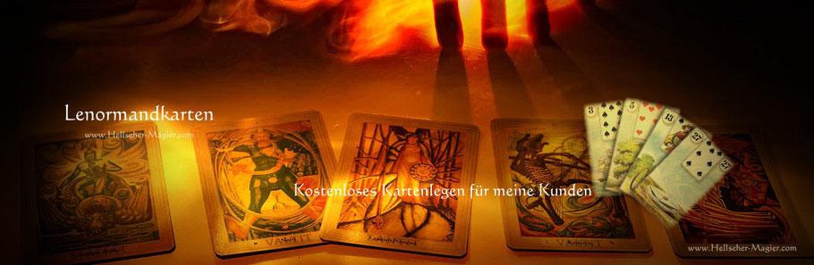 Lenormandkarten. Kartenlegen
