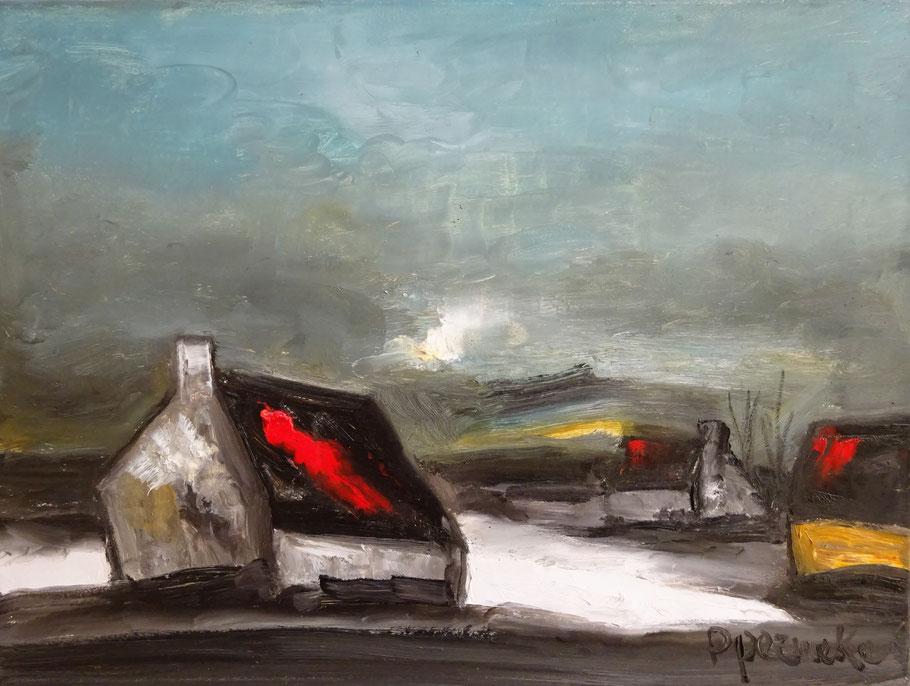 Paul Permeke, kunstenaar. Schilderij landschap te koop.