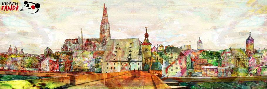 Jens Hirsch: Regensburg-Panorama