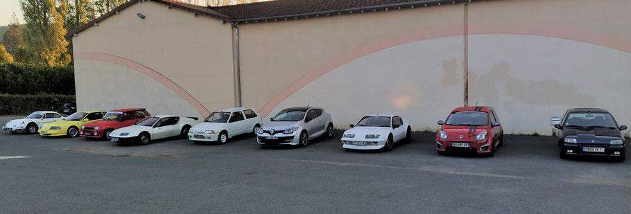Alpine & Renault Sport du Haut Mâconnais vous souhaite une bonne année 2021. Bonheur, santé, joie, amour, prospérité. De belles balades et expos avec vos autos
