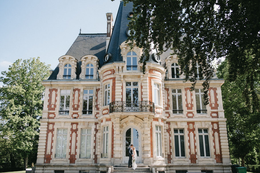 wedding in french castle