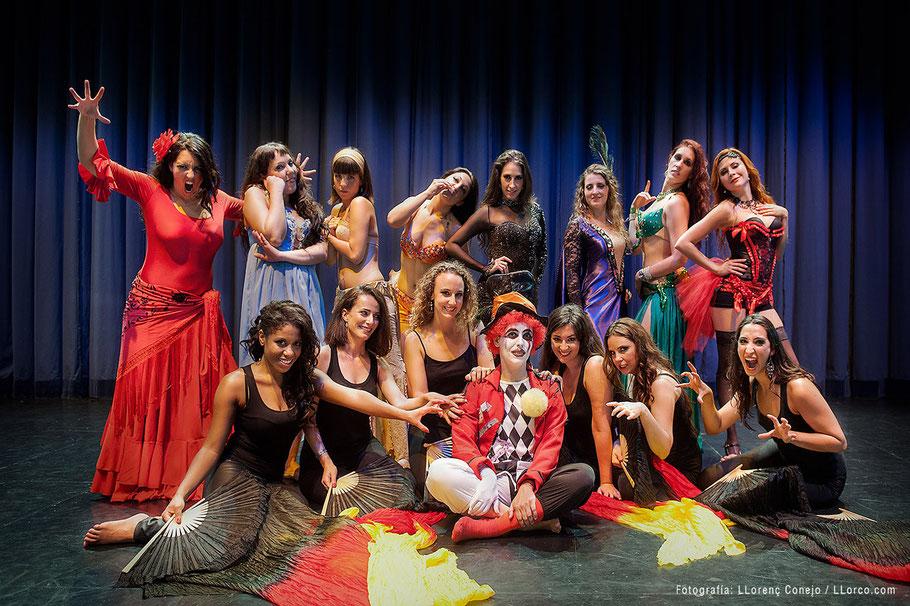 Bailarinas de la escuela de Gitza