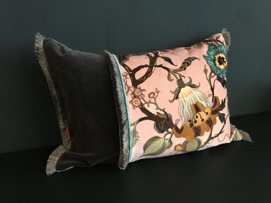 Boheme de luxe Interior Kissen Unikate Bone China Schöner Wohnen so lebe ich couch jimdo zuhause AD Westwing