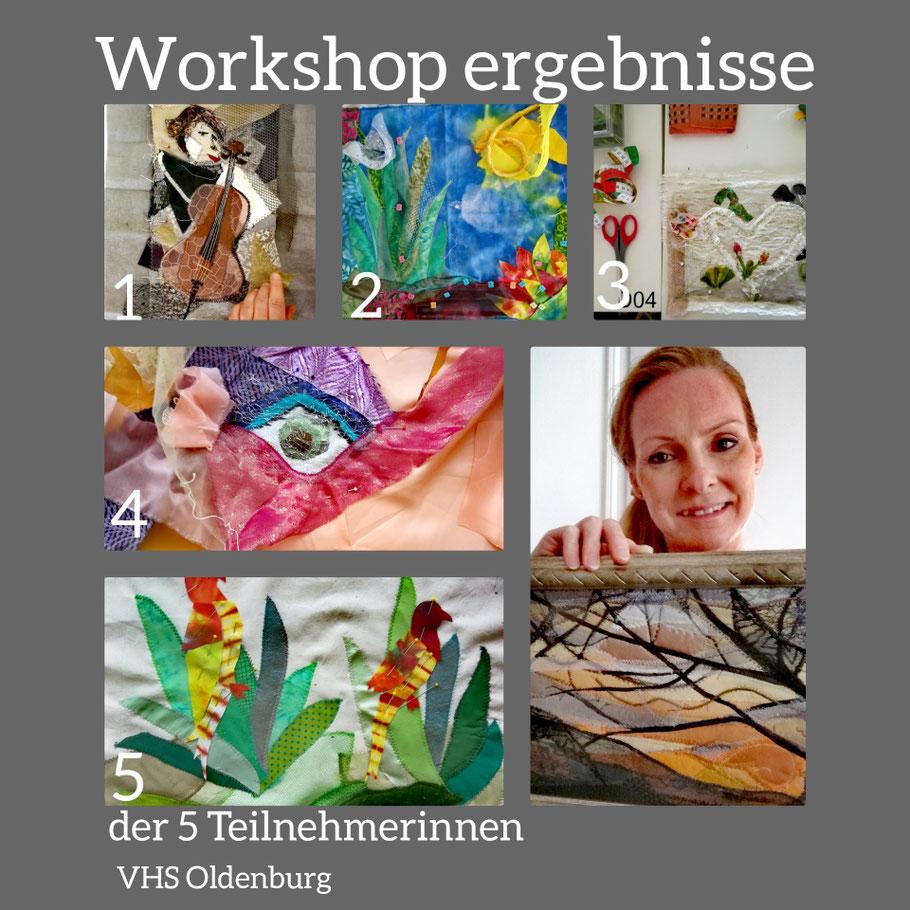 K.Bleichner, M. Blohmendahl, E. Nustede, U. Nold und U.Grapperhaus  Es war eine Freude zu sehen, wie Leidenschaft verbindet und Kreativität fließt