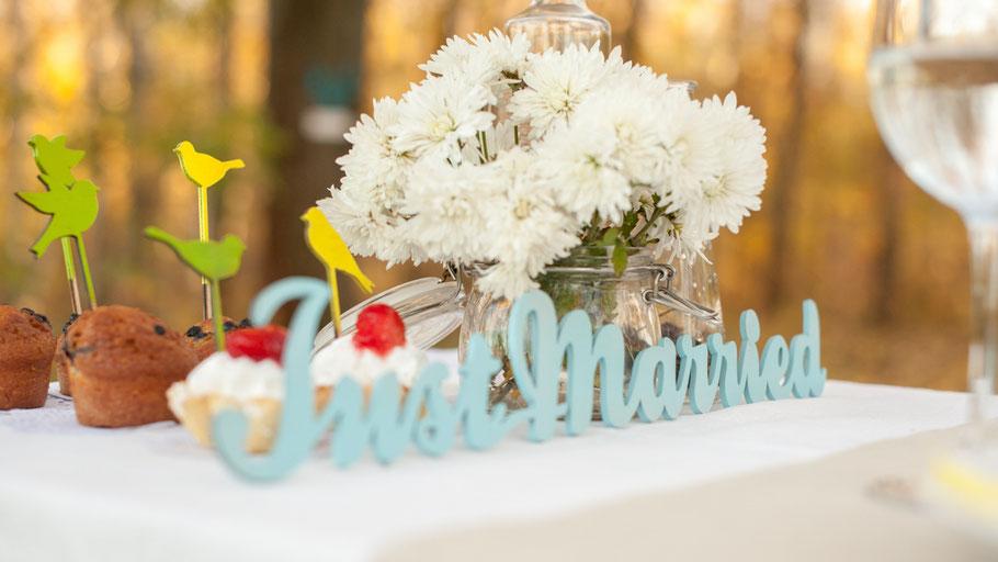 Hochzeitsfotograf, just married