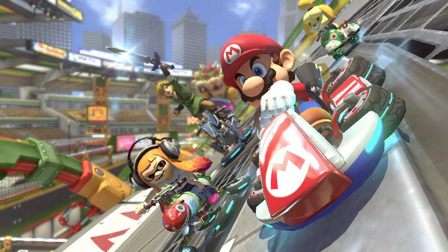 Beste Nintendo Switch Spiele: Mario Kart 8 Deluxe