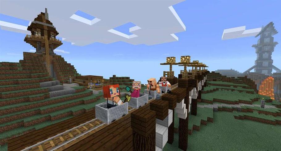 Minecraft Test: Der Multiplayer